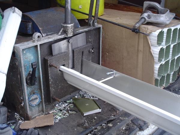 5 inch gutter machine